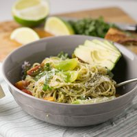 Creamy Avocado-Lime Pasta