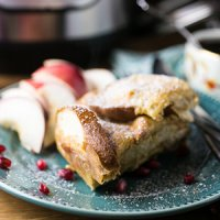 Eggnog French Toast (Slow Cooker)