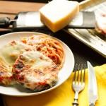 baked eggplant parmesan // chattavore