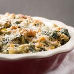 spinach & artichoke pasta pie // chattavore