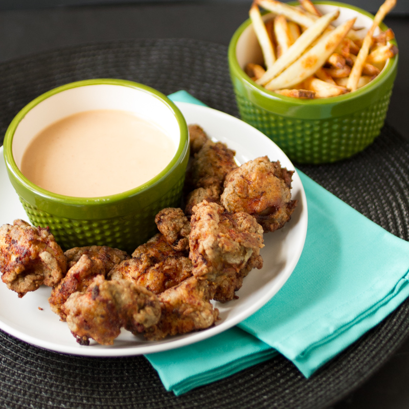 Is there anything tastier than Chick-fil-a nuggets and sauce? Now you can make your own homemade Chick-fil-a sauce and nuggets! | Recipe from Chattavore.com