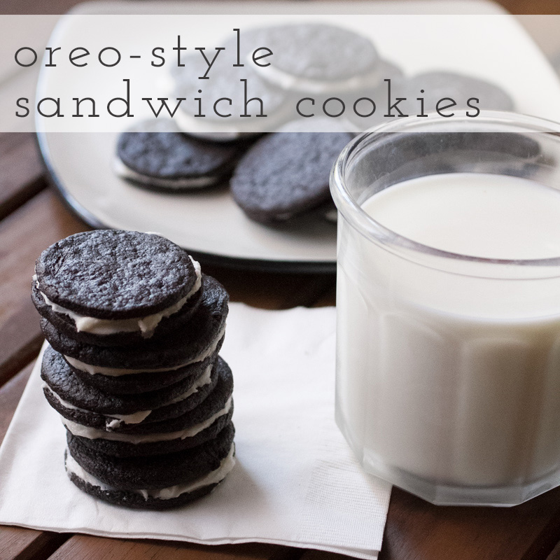 oreo-style sandwich cookies // chattavore