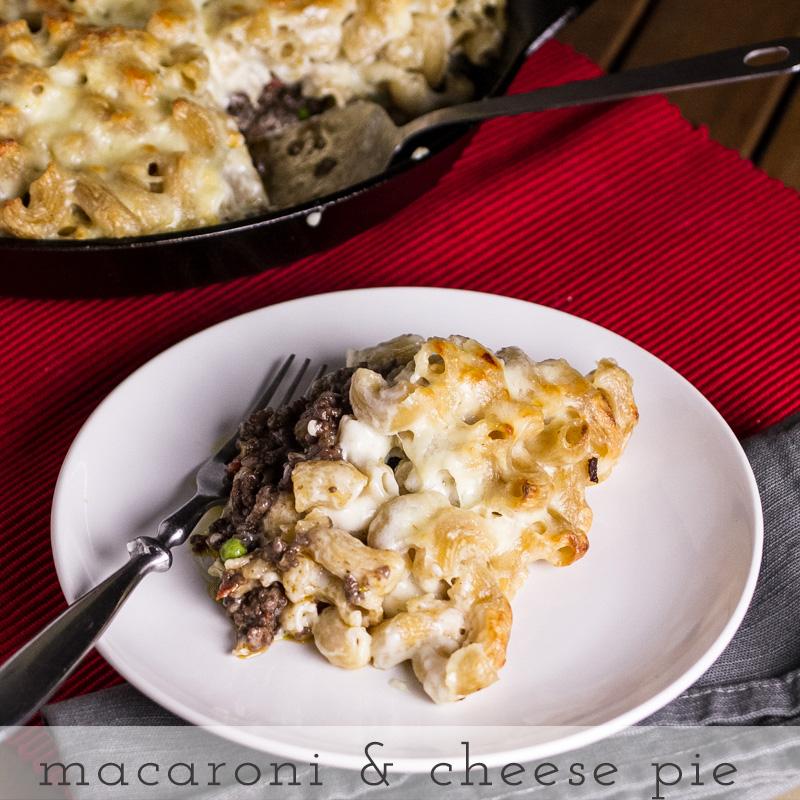 macaroni and cheese pie // chattavore