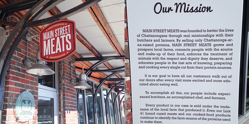 A day spent on Main Street Chattanooga must include a burger at Main Street Meats and some hot chocolate at the Hot Chocolatier! | chattavore.com