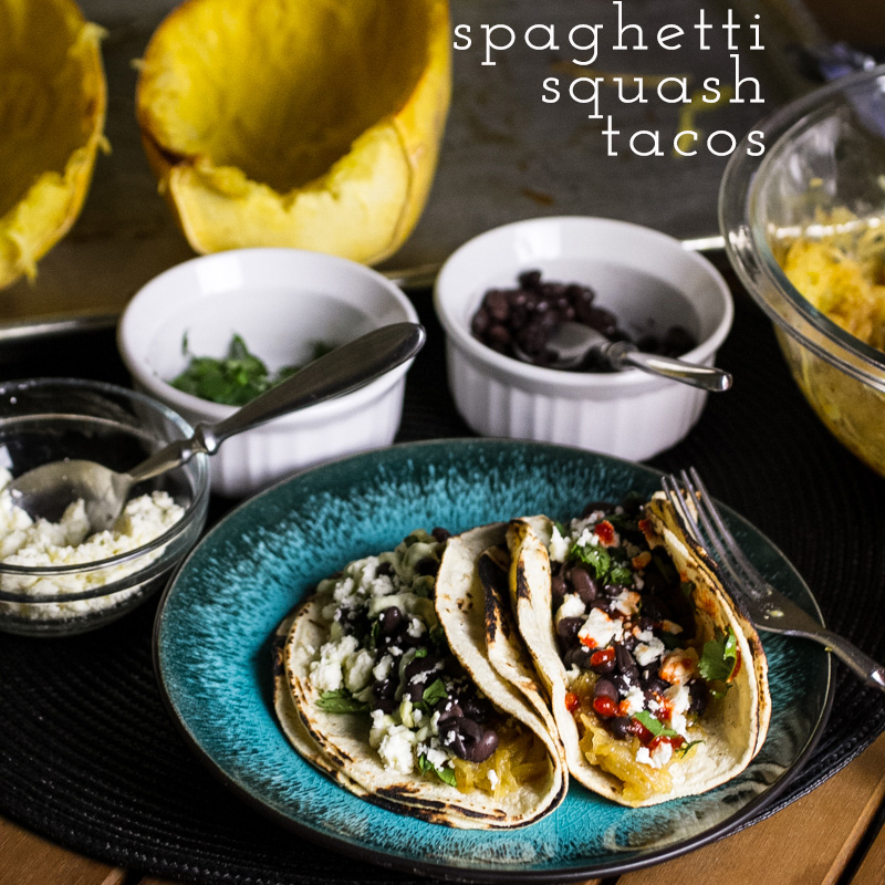 spaghetti squash tacos // chattavore