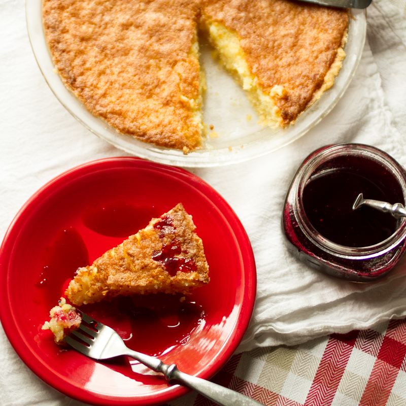 Southern buttermilk pie is a pretty good starting place for a Southern food blogger, right? It's a classic Southern dessert. Don't let buttermilk scare you. | recipe from Chattavore.com