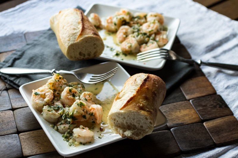 This garlicky shrimp scampi will make up for the disappointment you've felt over shrimp scampi in the past. Don't even think about serving it with pasta. | recipe from Chattavore.com
