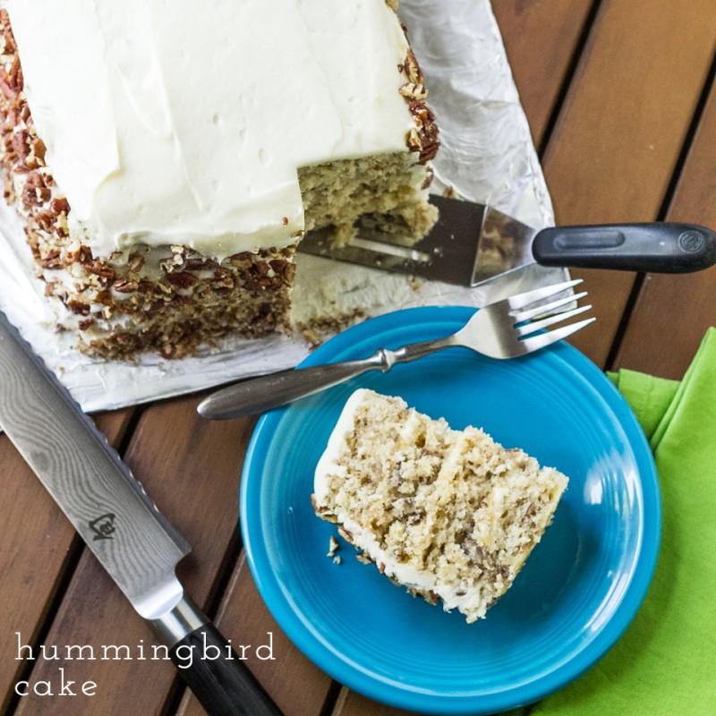 hummingbird cake | chattavore