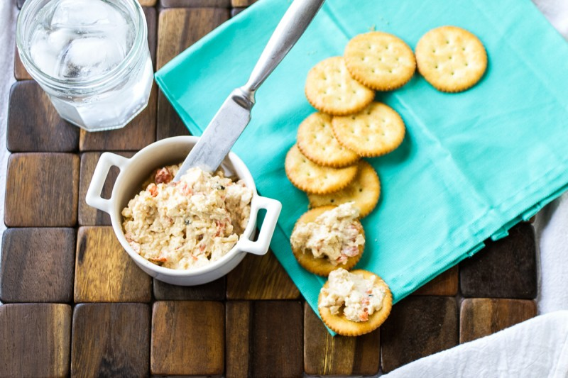 Southern pimento cheese is a classic staple of wedding showers, baby showers, and Southern lunches in general. This is my creamy, from-scratch version! | recipe from Chattavore.com