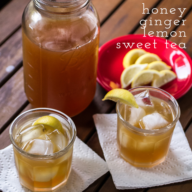 honey-ginger-lemon sweet tea | chattavore
