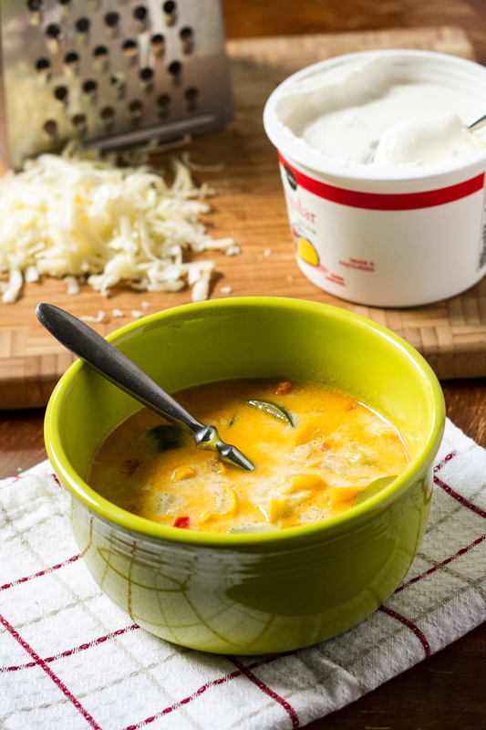 Summer Squash Soup with Cheese - Chattavore