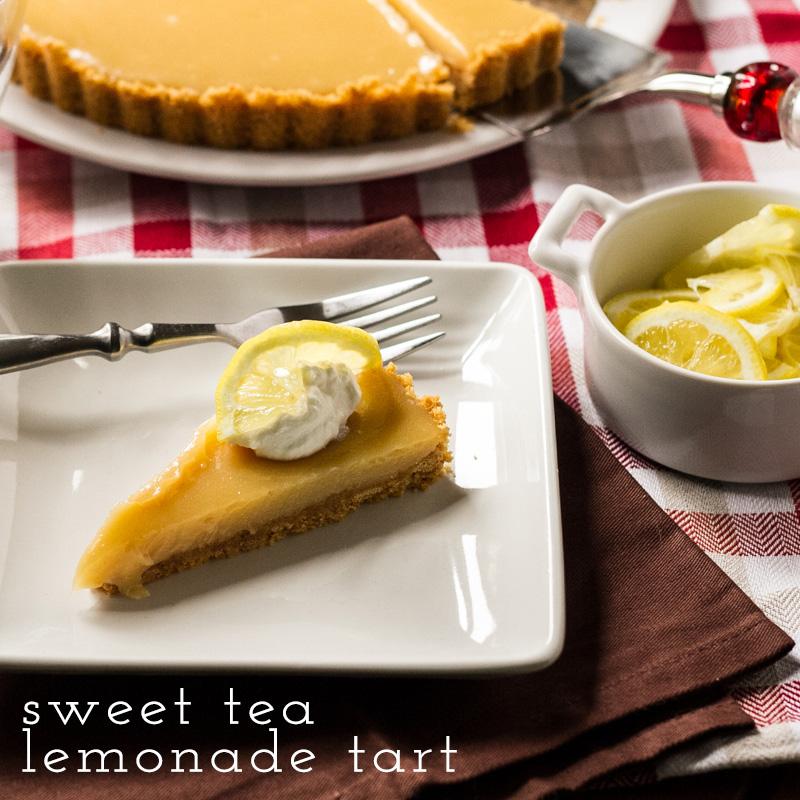 Sweet Tea Lemonade Tart - Chattavore