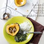 baked acorn squash   chattavore