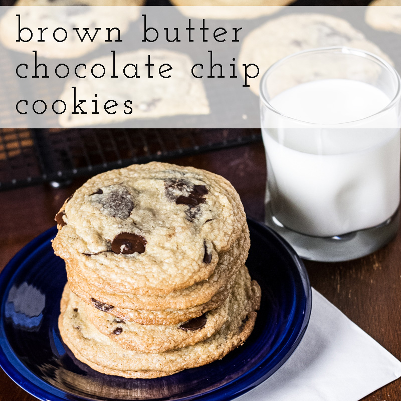 Gigantic Brown Butter Chocolate Chip Cookies - Chattavore
