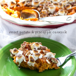 sweet potato & pineapple casserole | chattavore