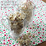cranberry white chocolate popcorn | chattavore