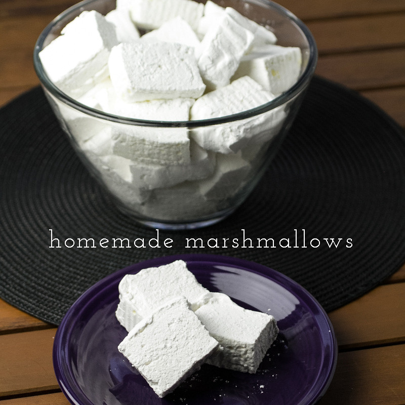 """Marshmallows? UGH!"""" please hear me out about homemade marshmallows ..."""