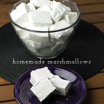 Homemade Marshmallows (Plain or Peppermint!)