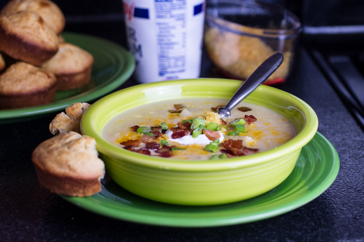 bacon and potato soup (quick and easy)