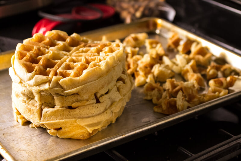 sausage and waffle casserole | chattavore