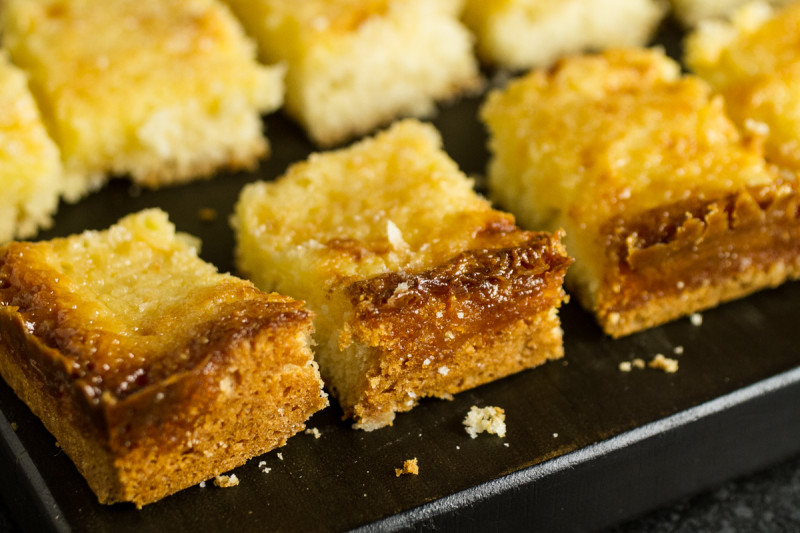 Gooey Lemon Chess Bars (cookie base adapted from The Smitten Kitchen ...