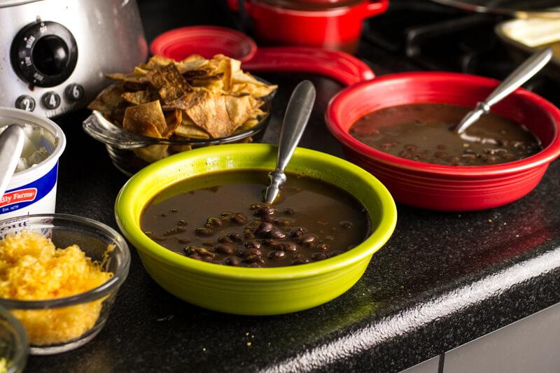 Black Bean Tortilla Soup - Chattavore
