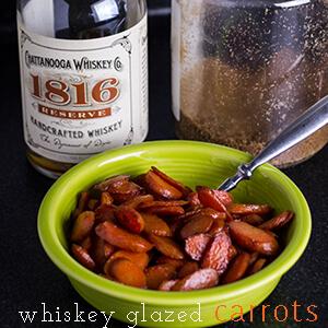 Whiskey Glazed Carrots - Chattavore