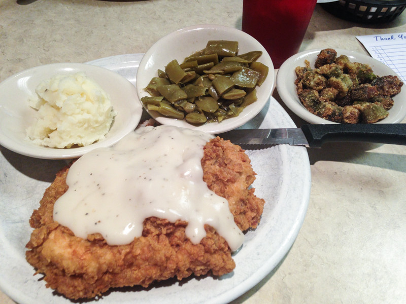 Countryside Café in Ooltewah, TN is a great Chattanooga area restaurant for Southern cooking! | from chattavore.com