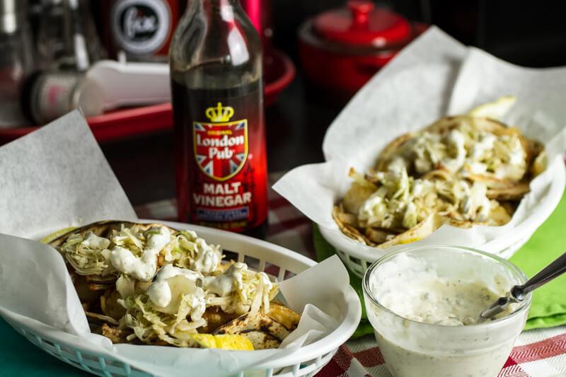 Fish & Chips Tacos