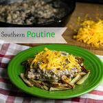 Southern Poutine with Sausage Gravy