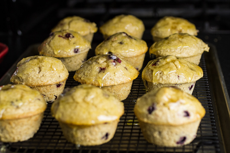 """Blueberry oatmeal muffins help you get around the whole """"cake for breakfast"""" concept because they're packed with oats! 
