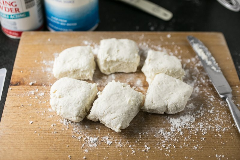 These White Lily biscuits are a Southern tradition. They're based on my Granny's baking powder biscuits and they're perfect with creamy sawmill gravy! | recipe from Chattavore.com