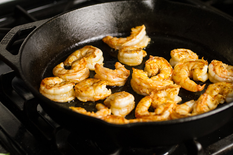 """Barbecue shrimp seems like a bit of a misnomer to me (as a Southerner, """"barbecue"""" means low and slow), but this is so good...I'll allow it!   chattavore.com"""