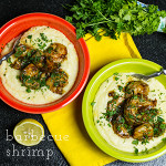 "Barbecue shrimp seems like a bit of a misnomer to me (as a Southerner, ""barbecue"" means low and slow), but this is so good...I'll allow it! 