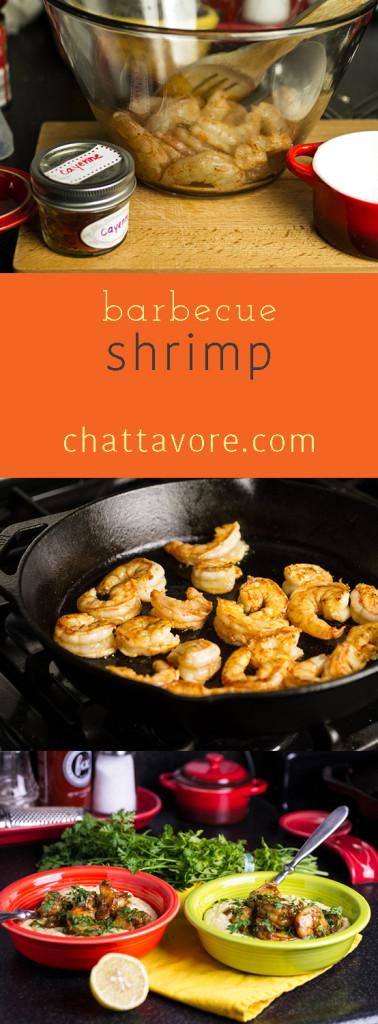 barbecue shrimp pin
