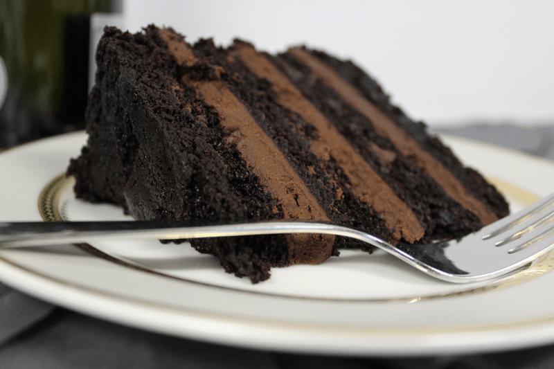 Vegan chocolate cake by Love Letter Cake Shop on Chattavore | chattavore.com