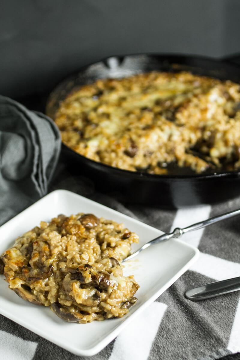 Marsala Mushroom Rice Casserole - Chattavore