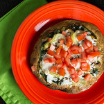 These tortilla vegetable pizzas are a quick and easy lunch, dinner, or snack! | chattavore.com