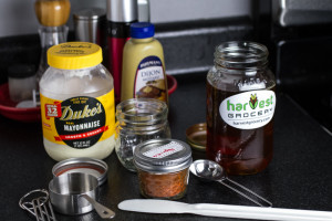 Homemade Honey Mustard Dipping Sauce