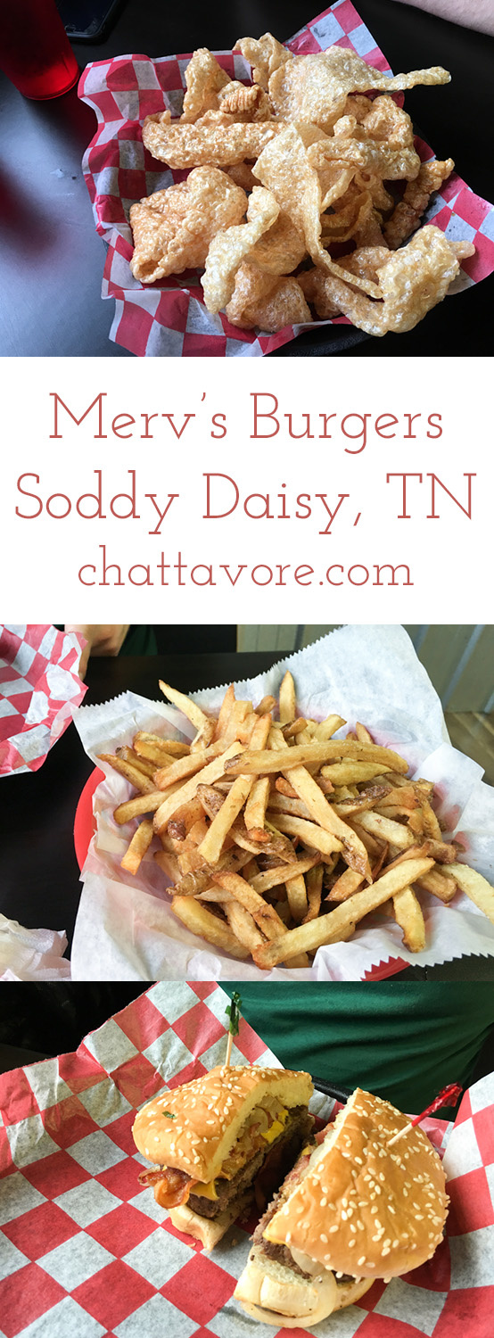 Merv's Burgers recently opened a new location in Soddy-Daisy, Tennessee. The burgers definitely lived up to the expectations set by the original location! | restaurant review from Chattavore.com