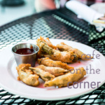 """Café on the Corner is located on Lookout Mountain in Tennessee. They serve """"Southern food re-imagined"""" in a casual but beautiful atmosphere. 