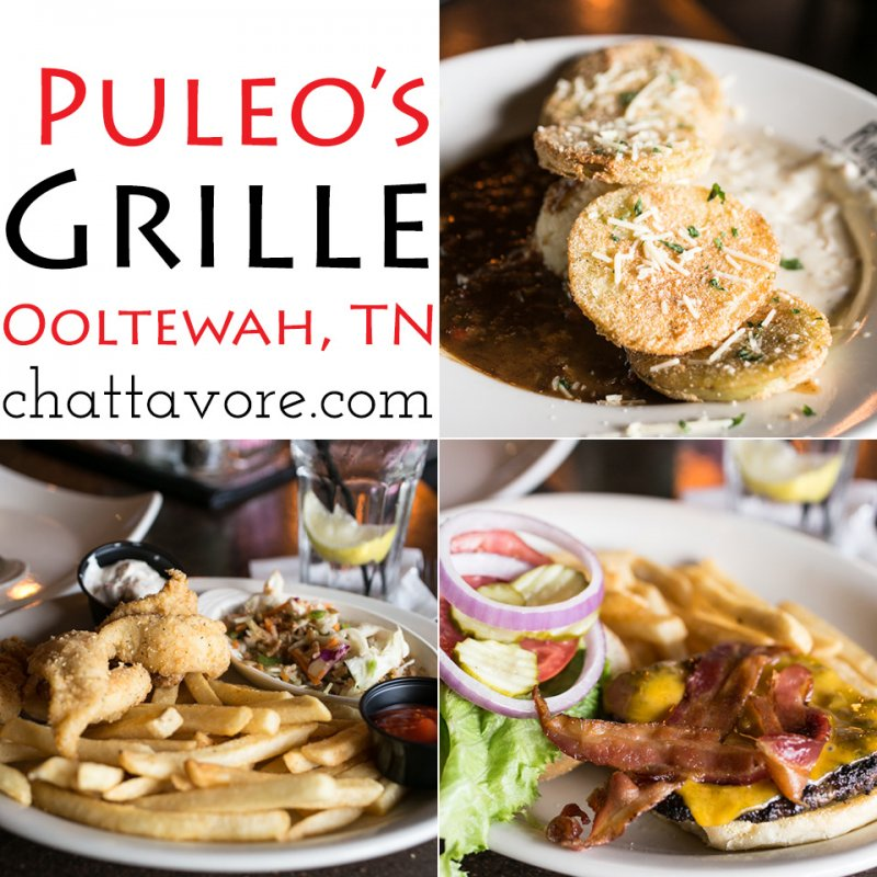 Puleo's Grille is a small, regional chain (5 restaurants) based in Knoxville, TN. Their newest location is located in Ooltewah, TN. | restaurant review from Chattavore.com