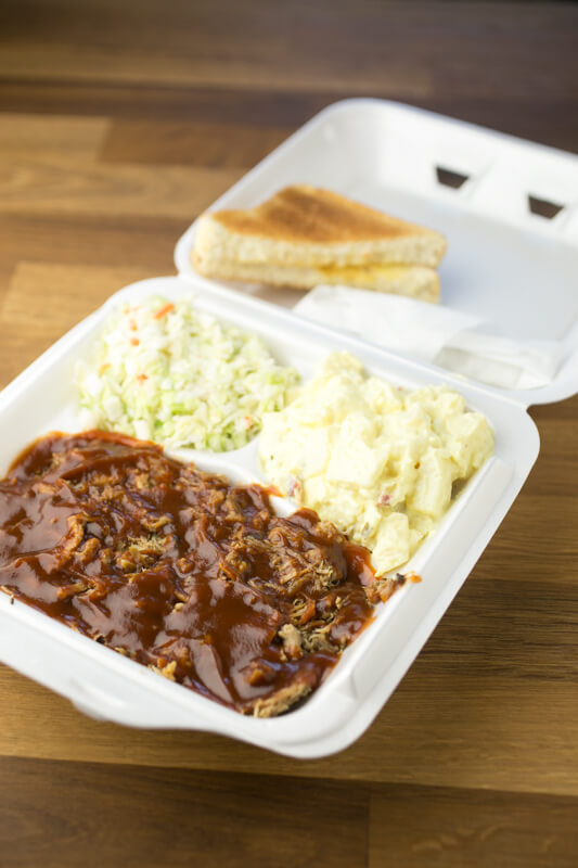BBQ Andy's, located in Soddy-Daisy, Tennessee, has a very small menu that allows them to do barbecue well - including making their own sauce. | restaurant review from Chattavore.com