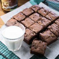 Amaretto Brownies