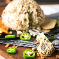 Jalapeño Popper Cheese Ball + Video
