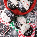 Peppermint black and white cookies are easy to make, delicious, and gigantic. They're a great addition to your holiday baking regimen! | recipe from Chattavore.com