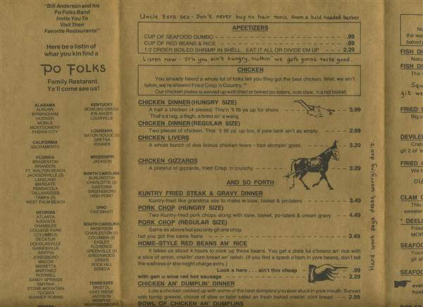 Thanks to a suggestion from a reader, I'm remembering Chattanooga restaurants from days gone by today. They're gone, but not forgotten!   nostalgia post from Chattavore.com