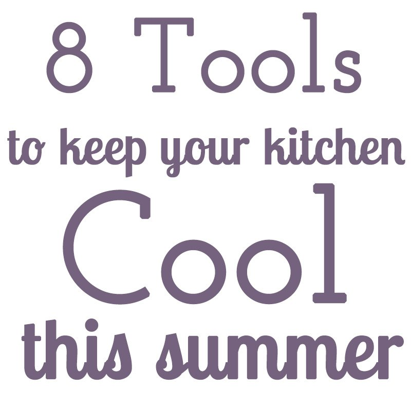 It gets hot in the summer here in Tennessee, and electricity can be pricey. Here's how to keep your kitchen cool during the summer!   Kitchen Tips from Chattavore.com