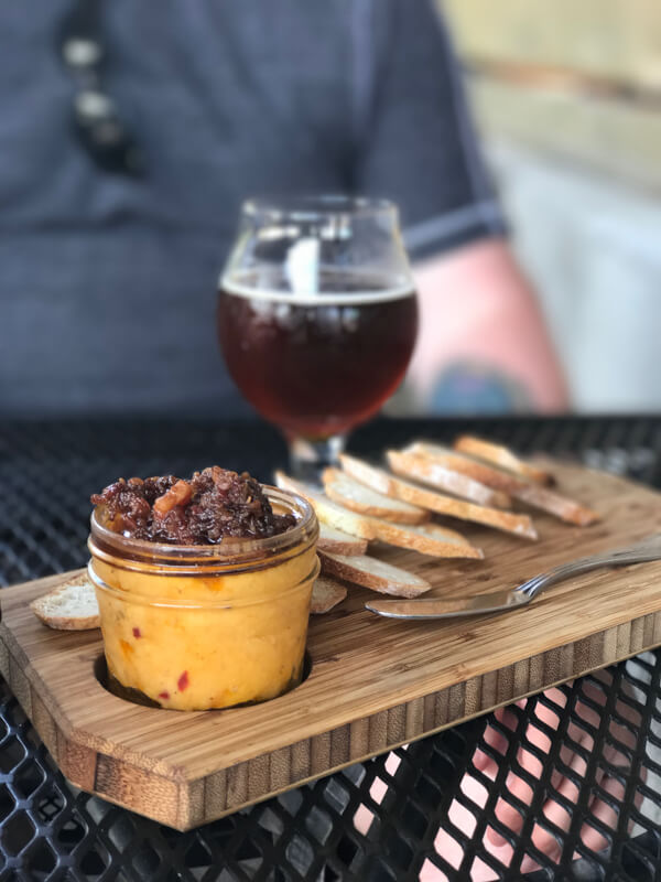 Flying Squirrel Bar is a trendy bar on Chattanooga's South Side, serving beer, wine, cocktails, and a variety of small plates. | Restaurant Review from Chattavore.com