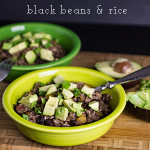 These black beans & rice are simple and unbelievably delicious | chattavore.com